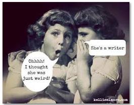Oh No, a Writer